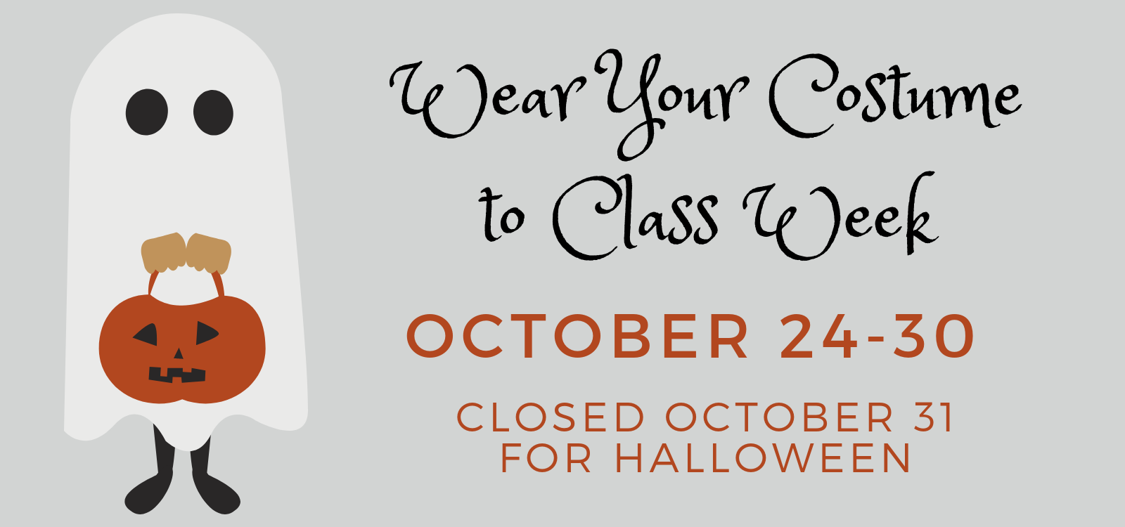 Wear Your Costume to Class Week(1)